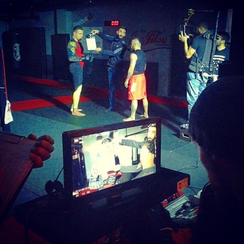 Sports Ad Filming