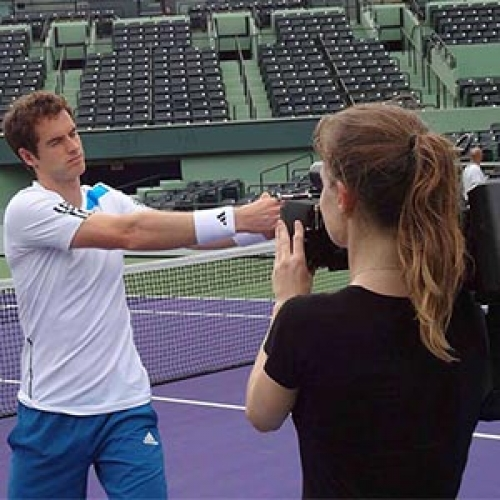 Andy Murray Miami Shoot for HEAD Tennis