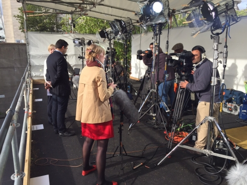 UK Elections EBU. with my Camera Kit. Mohammad Hussain @MoCam Visual Services Vimeo.com/hussainm