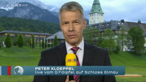 RTL Anchorman Peter Kloeppel