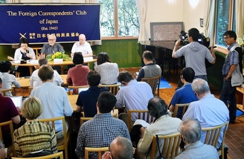 ITM exclusively produced the video production and transmission of the press conference