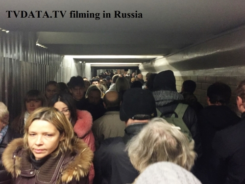 Underground train system in Moscow or The Moscow Metro is one of the most magnificent subway of the world. It is beautiful, cheap and but it carries 7 million passengers a day. To avoid problems while filming on the tube we recommend you hire a Russian producer to accompany your production team.