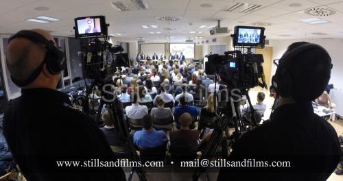 Corporate conference coverage for SwissRe in Bratislava, Slovakia