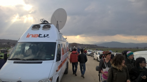 INA TV SNG truck offering Live Stand up positions & Playout with daily coverage 24/7