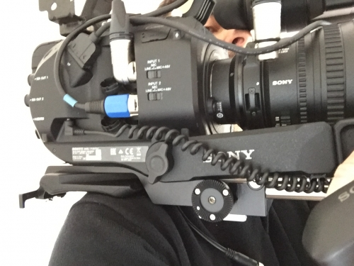 Shooting 4K with FS7 fully equipped
