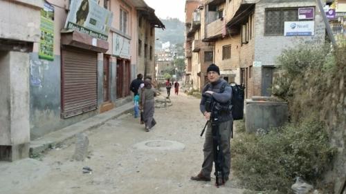 Kathmandu.Simle life in high spirit-Cameraman Jan polak Auckland