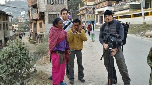 Kathmandu-Behind the scenes _Cameraman Jan Polak Auckland
