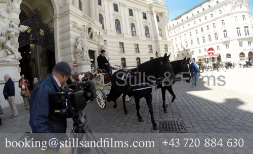 Filming b-roll for an Italian client in Vienna