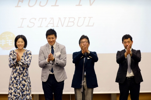 Fuji TV channel's Istanbul bureau has started operations in their new office inside IHA News Agency, at IHLAS Holding headquarters.