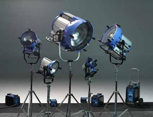 Film lighting hire spain portugal