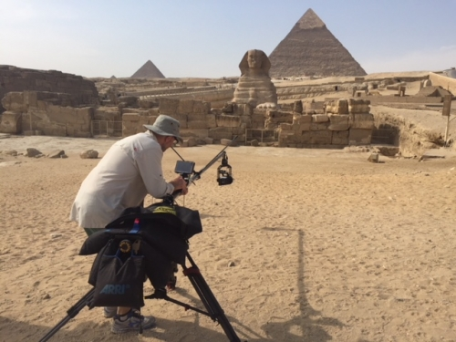 Filming the Sphinx