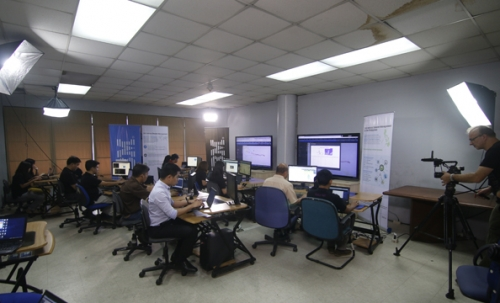 With IBM at DOST