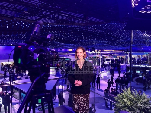 Live-Stand up at Mobile World Congress 2018 in Barcelona