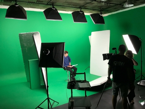 Green Screen - Studio Shoot