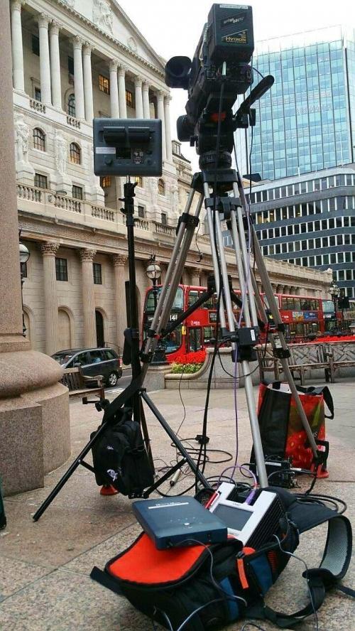 Cameraman with LiveU: Full Live Standup Solutions @MoCamVisuals.TV