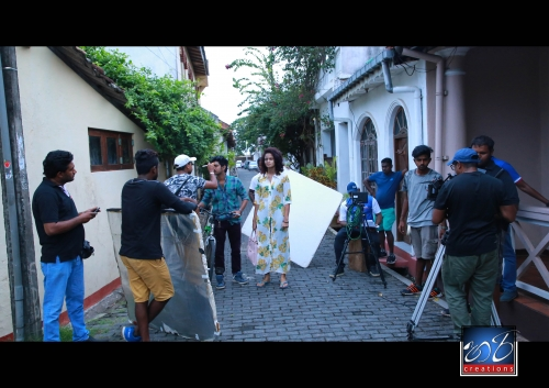 Shooting documentary- Hari creations film crew