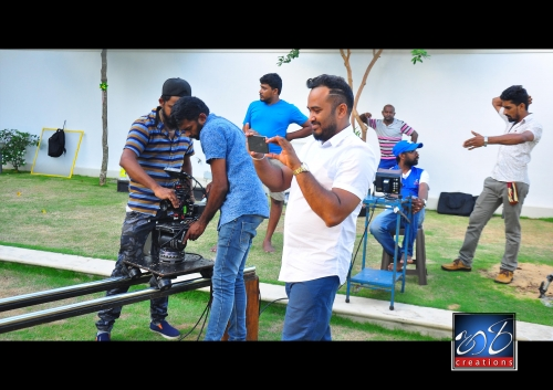Shooting new music video - Hari creation film crew