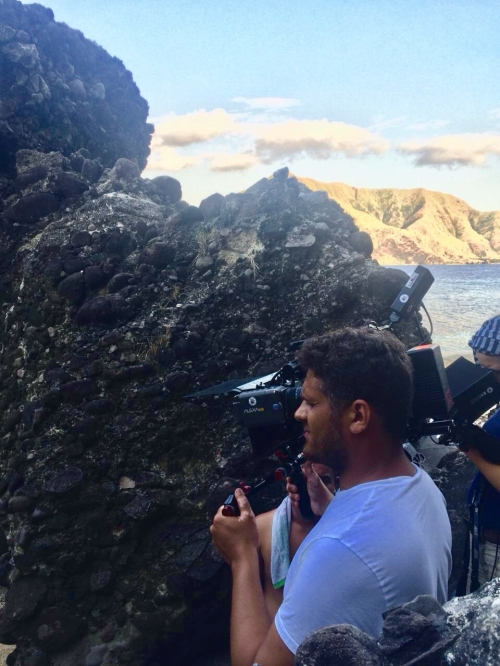 Film Shoot in a Remote Island in the Philippines