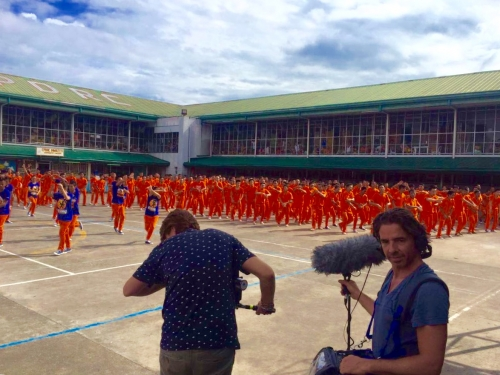 Dancing Inmates Shoot in the Philippines