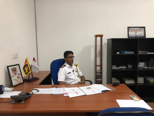 sri lankan navy spokesmen revealing the truth