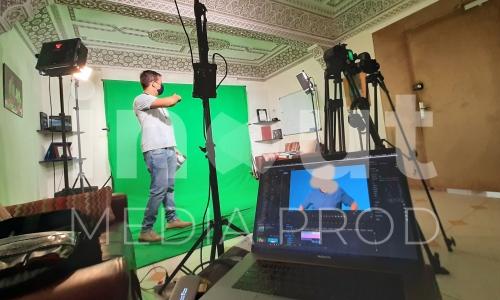 Tv Crew - RABAT Morocco