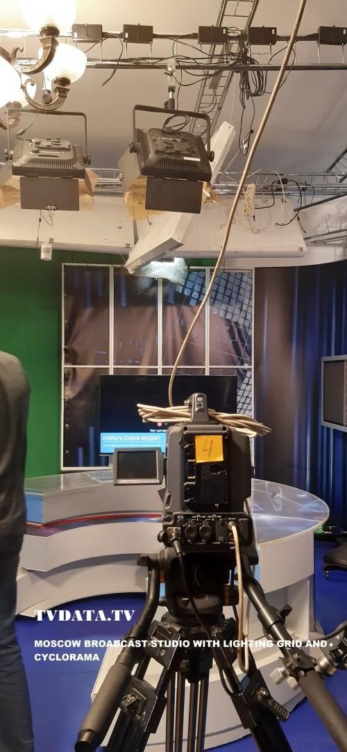 BROADCAST TV STUDIO TVDATA.TV RUSSIA