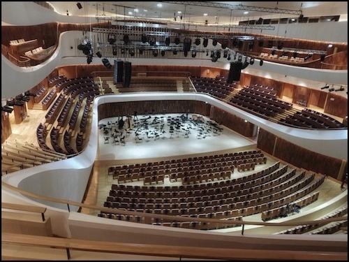 Zaryadye Concert Hall , November 2020