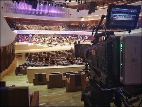 Camera crew hire + equipment