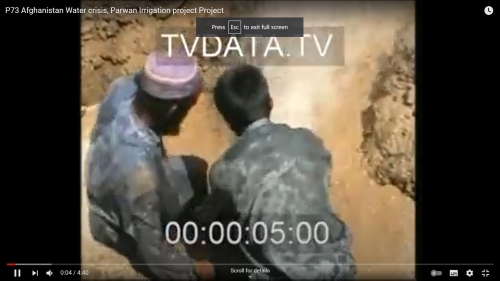 Afghanistan-war exclusive videos incl. Soviet Reconstruction of Afghanistan. Betacam SP tape P73 on Afghanistan Water crisis, Parwan Irrigation project. We have multi hours collection of Afganistan War Video Footage INFO@TVDATA.RU