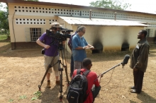 Linx Productions: Interview with Lamine Kpaka, local farmer at Pujehun