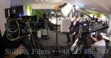 Corporate shoot with Sony F55 and Canon 0D