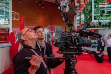 One of our regular UK based clients requested a Sony FS7 camera crew and stills photographer to shoot for Vodaphone at the world famous technology trade fair CEBIT in Hannover. We crewed it form Frankfurt and got some nice making of shots.