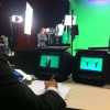 Green screen and teleprompter camera crew in Munich