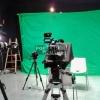 Multi-camera green screen TV studio at ESC 2017 in Barcelona