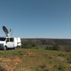 Purple Turtle SNG Satellite uplink, South Africa Live Protecting the Rhino