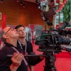 Frankfurt camera crew at CEBIT in Hannover