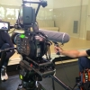 Bilingual cameraman with crew filming in Madrid and Barcelona for German-French Broadcaster arte