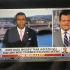 Kevin Corke live for Fox News with the uplink done via our Cobham Ka-Sat and a LiveU