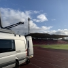 Gateshead covering the FA Cup first round, Gateshead FC v Oldham FC for BBC Sport