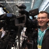 Filming video Interview St.Petersburg Russia. Broadcast Cameramen in Russia TVDATA.TV Any camera: Sony EX3, Canon C300 to Arri Alexa