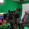 Live-streaming crew, equipment & studio location in Cologne (Germany) for live-webcast to medical congress in Australia