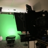 Green screen autocue shoot