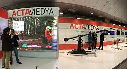 ACTAMEDYA participates in the Global Satshow in Istanbul.