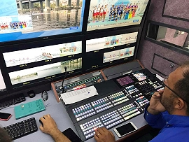 ACTAMEDYA provides live broadcast services for Balkan Rowing Championships.