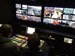 Inside ACTAMEDYA's Outside Broadcast (OB) unit in Istanbul