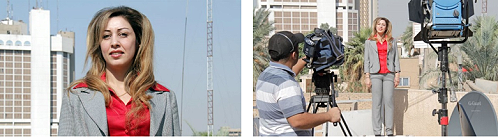 AP live positions in Baghdad, Iraq.