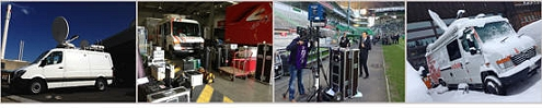 Actua has SNG satellite uplink trucks in Switzerland and France for transmission and production.