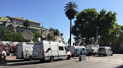 Kinexo TV offers SNG satellite trucks in Buenos Aires and Argentina.