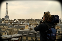 BG TV offers live IP transmissions from central Paris using LiveU.
