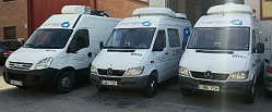 Bainet Broadcast Services offers SNG truck hire, OB vans, live IP streaming and camera crews in Madrid.